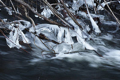 Photograph - Ice Formations by Margie Avellino