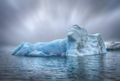Royalty-Free and Rights-Managed Images - Ice Magic by Evelina Kremsdorf