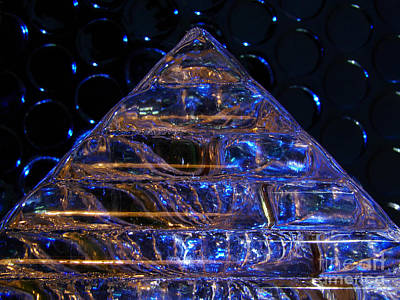 Ice Pyramid Art Print