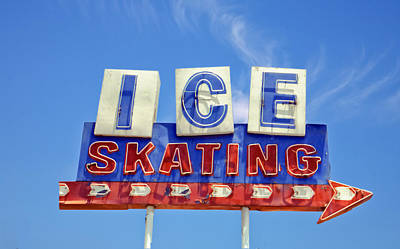Advertisement Digital Art - Ice Skating by Matthew Bamberg