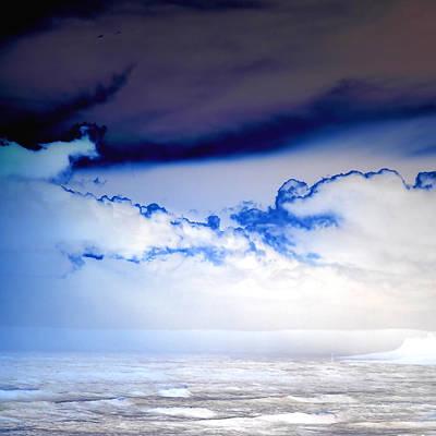 Ice Storm Print by Sharon Lisa Clarke