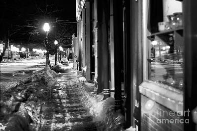 Beers On Tap - Ice Walk by Randall Cogle