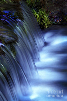 Blurr Photograph - Ice Water Blue by Paul W Faust -  Impressions of Light