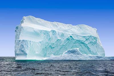 Iceberg Off The Newfoundland Coast Art Print