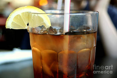 Photograph - Iced Tea 2 by Susan Stevenson
