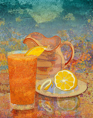 Iced Tea Art Print