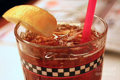 Photograph - Iced Tea by Susan Stevenson