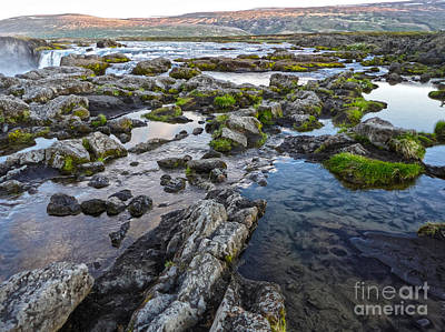 Photograph - Iceland Godafoss Waterfall - 02 by Gregory Dyer