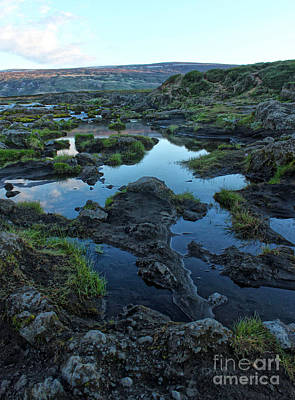 Photograph - Iceland Godafoss Waterfall - 03 by Gregory Dyer