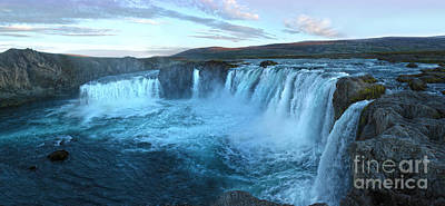 Photograph - Iceland Godafoss Waterfall - 08 by Gregory Dyer