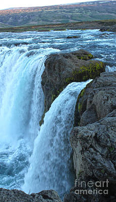 Photograph - Iceland Godafoss Waterfall - 10 by Gregory Dyer
