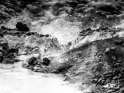 Photograph - Iceland Mud Pool by Michael Canning