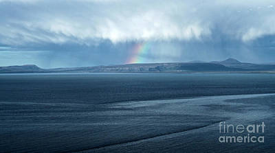 Photograph - Iceland Rainbow by Gregory Dyer