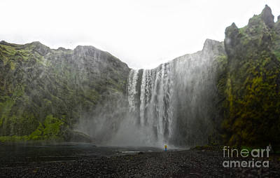 Photograph - Iceland Skogar Waterfall 03 by Gregory Dyer