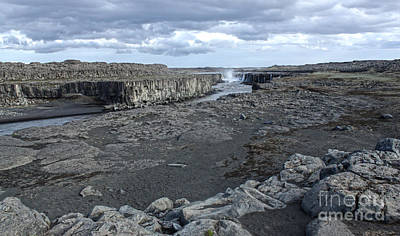 Photograph - Iceland Waterfall Selfoss 02 by Gregory Dyer