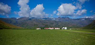 Photograph - Icelandic Farm by Anthony Doudt