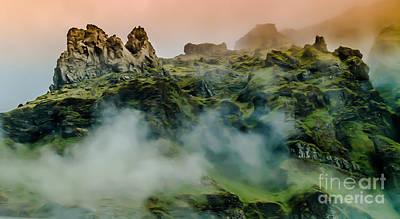Icelandic Mist Art Print