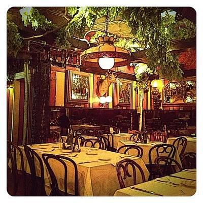 Restaurant Photograph - Ich Liebe Diessen Ort by Natasha Marco