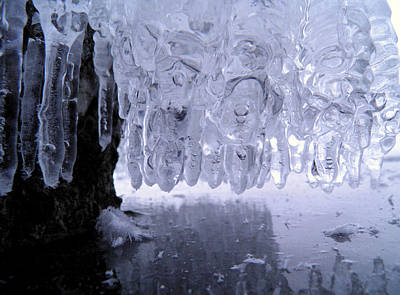 Photograph - Icicles by Sami Tiainen