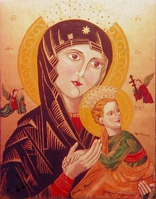Painting - Icon by Elly Potamianos