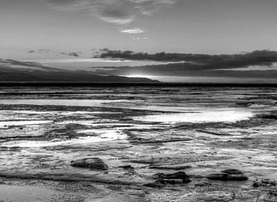 Art Print featuring the photograph Icy Bay At Sunset by Michele Cornelius