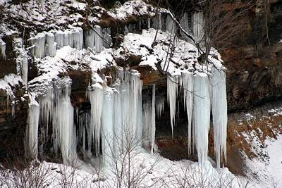 Photograph - Icy Pennsylvania  by Denise Moore