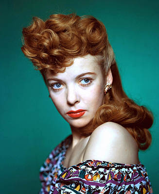 Ida Lupino, Ca. 1940s Art Print by Everett