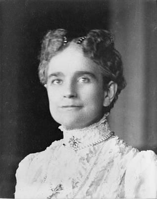 Ida Saxton Mckinley 1847-1907, First Art Print by Everett