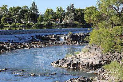 Photograph - Idaho Falls by Carol Groenen