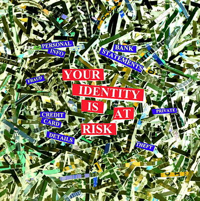 Identity Fraud Art Print by Kevin Curtis