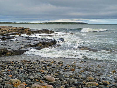 Photograph - Ides Of The Storm Tide by Lynda Lehmann