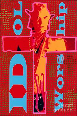 Idol Worship Art Print by Ricky Sencion