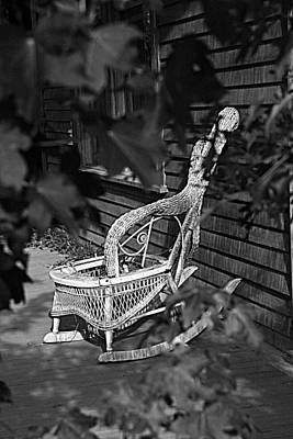 Photograph - If Chairs Could Talk by Greg Sharpe