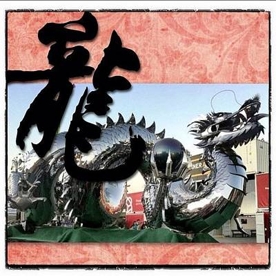 Dragon Photograph - #ig #igers #iphone4 #instagood by Victor Wong
