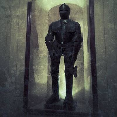 Horror Wall Art - Photograph - #igdungeon #knight#armor#art by Jenni Martinez