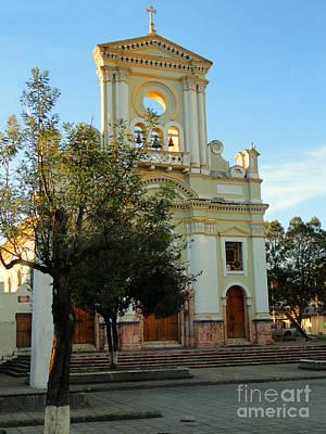 Iglesia De Fatima Art Print