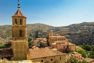 Teruel Photograph - Iglesias Albarracín by Copyright Antoni Torres