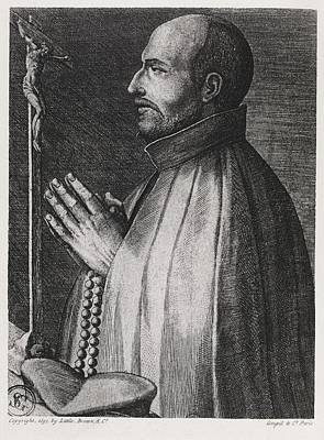 Seventeenth Century Photograph - Ignatius Of Loyola, Spanish Saint by Middle Temple Library