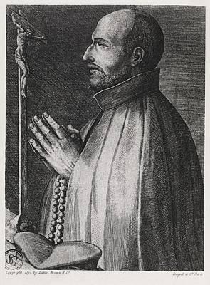 Ignatius Of Loyola, Spanish Saint Art Print