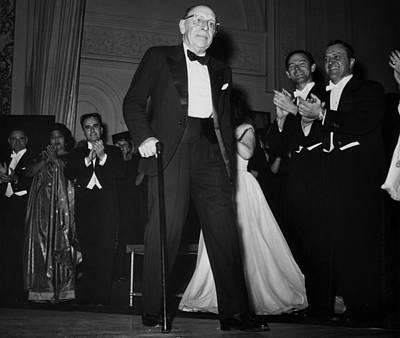 Applaud Photograph - Igor Stravinsky  1882-1971, Russian by Everett