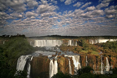 Iguassu Pano Art Print by Keith Kapple