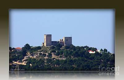 Il Castello Di San Michele Da Villanova Art Print