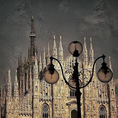Vintage Wall Art - Photograph - Il Duomo Di Milano - Milano by Joel Lopez