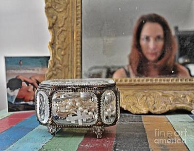 Self-portrait Mixed Media - Il Est Complique by Lauri Serene
