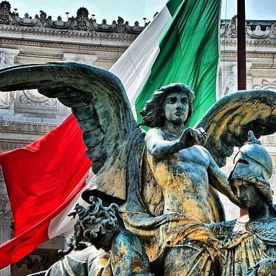 Bronze Wall Art - Photograph - Il Pensiero - Giulio Monteverde by Chi ha paura del buio NextSolarStorm Project