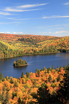 Photograph - Ile Aux Pins La Mauricie National Park by Pierre Leclerc Photography