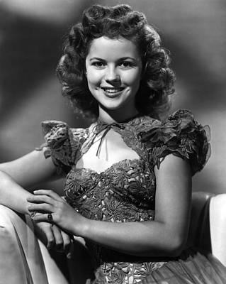 Ill Be Seeing You, Shirley Temple, 1945 Art Print by Everett