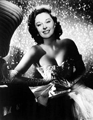 Opera Gloves Photograph - Ill Cry Tomorrow, Susan Hayward, 1955 by Everett