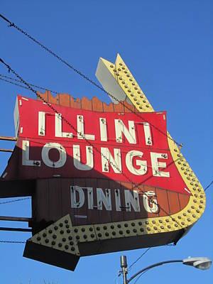 Photograph - Illini Lounge by Todd Sherlock