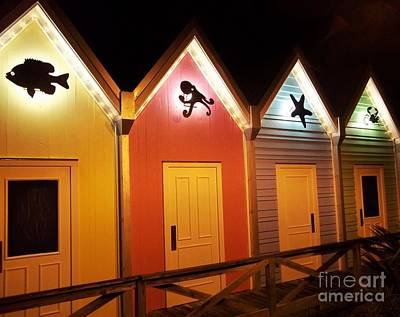 Pittsburgh According To Ron Magnes - Illuminated Bath House by Rhonda Lee
